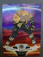 2019-20 OPC Platinum Sunset #19 David Pastrnak Boston Bruins O-Pee-Chee Insert