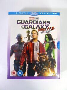 Guardians Of The Galaxy Vols 1 & 2 Film Box Set Blu-ray UK BRAND NEW (Fast Post)