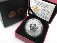 2014 RCM WMF World Money Fair 1 oz Silver Maple Leaf