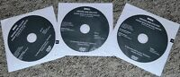 DRIVERS & UTILITIES 3x DVD for DELL Precision M2400 M4400 M6400 Workstation Win7