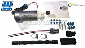 Genuine Walbro TI 535lph F90000295 Hellcat Fuel Pump & 400-1168 Install Kit E85