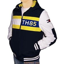 TOMMY HILFIGER Mens Yacht Athletic Jacket WaterStop...