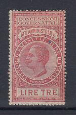 1924 MARCHE DA BOLLO ATTI AMMINISTRATIVI 2 LIRE USATA 2
