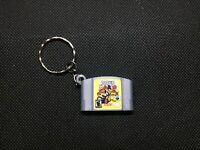 N64 Paper Mario 3D Printed Cartridge Keychain Nintendo 64