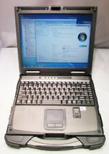 "GETAC B300 13.3"" FULLY RUGGED NOTEBOOK, C2D-L7500,2GB,500GB,FPR,2-BATT,WIN7 NICE"