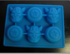 AVENGERS CAPTAIN AMERICA SILICONE CHOCOLATE CANDY MOLD FONDANT MOLD