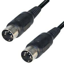 Audio Kabel 5m 5-pol DIN Stecker auf DIN Stecker Dioden Anschlusskabel