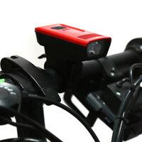 Bike Flashlight Holder Front Light Mount Clip Torch Clamp Fastening Bracket HU