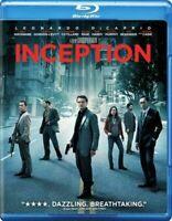 Inception (Blu-ray Disc, 2010) Leonardo DiCaprio Joseph Gordon-Levitt Caine