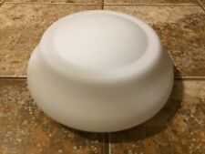 HAMPTON BAY GAZEBO CEILING FAN FROSTED GLOBE, NEW REPLACEMENT SHADE LIGHT COVER