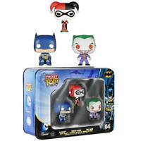 DC Comics Batman, Harley Quinn and Joker Pocket Pop! 3-Pack Tin Funko #04*