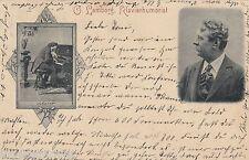 Klavierhumorist Lamborg AK 1899 Komiker Musik Klavier Zirkus Varieté 1607150