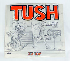 ZZ Top:  Tush [New- Unplayed Copy from Old Warehouse Stock]