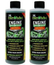 XL Nanolube Engine Oil Additive and Synthetic Oil Treatment, 8 oz (2 pack)