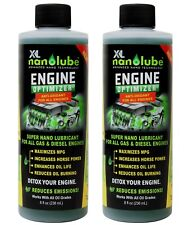 XL Nanolube Oil Additive Engine Treatment Reduces Oil Burning & Engine Smoke 8oz
