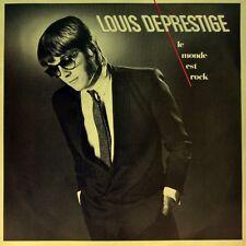 "7"" LOUIS DEPRESTIGE La monde est rock ASPHALT JUNGLE France DISQUES MOTORS 1980"
