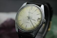 Vintage Baylor 17 Jewel Automatic Self Winding Mens Calendar Wrist Watch