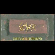 Slayer Soundtrack to the Apocalypse 3 CD 1 DVD  Box Set (Read Description)