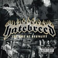 HATEBREED THE RISE OF BRUTALITY CD PA 2003 METAL HARDCORE JASTA MARTIN ZEUSS