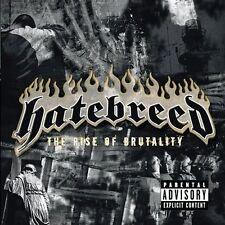 HATEBREED THE RISE OF BRUTALITY CD PA 2003 METAL HARDCORE JASTA MARTIN ZEUSS