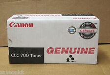 Nuevo genuino Canon Clc-700 Copiadora Cartucho De Tóner Negro 1421a003