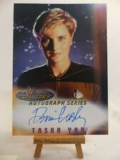 the women of Star Trek In Motion TNG autograph series A1 Denise Crosby Tasha Yar