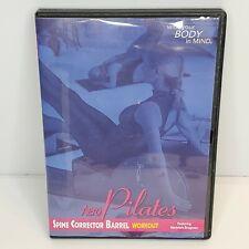 Aero Pilates Spine Corrector Barrel Workout DVD