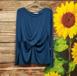 Jennifer lopez Women's Long Sleeve Pullover Blouse Size XL NWT
