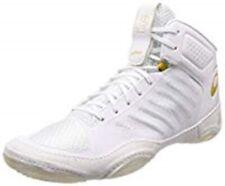 Asics wrestling boxing shoes JB ELITE III J702N White / Rich gold Japan New