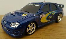 SUBARU IMPREZA WRC DIECAST METAL  Radio Remote Control Car 1.32 FAST SPEED  14CM