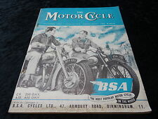 The Motor Cycle Magazine - 13 Aug 1953. BSA, Vincent.