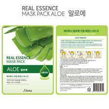 Jluna Korean Cosmetics Natural Plant Essences Face Mask Pack 1PC Aloe