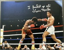 Leon Spinks Signed Photo 11x14 Autograph PSA/DNA I *&%** Up Muhammad Ali Insc