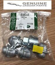 GENUINE JAGUAR X-TYPE & S-TYPE LOCKING WHEEL NUT KIT (SEND REG NUMBER) C2C9198