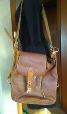 VINTAGE OROTON Leather Large  Backpack Messenger Shoulder Crossbody Hobo Bag