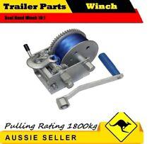 JSS 1800KG 3 SPEED Boat Hand Winch 10:1 CAR BOAT TRAILER 4WD HAND WINCH
