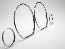 Cromo velocímetro velocímetro anillos letronix clip vw golf 3 vento polo 6n Ibiza clips