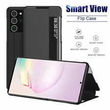 For Samsung Galaxy Note 20 / Note 20 Ultra Smart View Flip Leather Case Cover