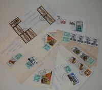 Ersttagsbriefe Umschläge Karten Schmuckbriefe Luftpost usw 50 Stück  040