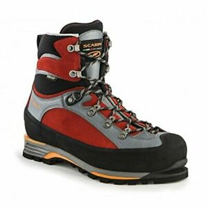 S. C. A. R.p.a Triolet Pro Th GTX Mens Trekking Leather Gray Red 65SCU