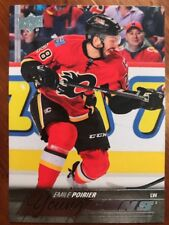 2015-16 UD Hockey Series 1 #210 Young Guns Emile Poirier Pack Fresh