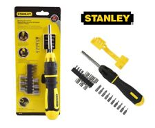 Stanley Ratcheting Screwdriver Set  62-574 Bits & Nut Driver