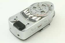 [ Excellent+5 ] Leica Meter MR-4 MR4 Silver For M2 M3 M4 M4-2 M4-P From JAPAN 0