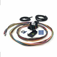 Ultimate 12 Fuse 12v Conversion Wire Harness 33 1933 Model 40 Coupe hot rat