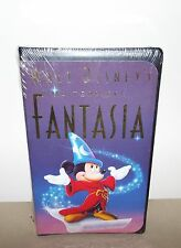 WALT DISNEY MASTERPIECE FANTASIA VHS MOVIE MINT CONDITION / FACTORY SEALED