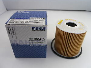 Ford C-Max Focus Galaxy Kuga Mondeo S-Max Oil Filter MAHLE OX339/2D