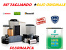 KIT TAGLIANDO COMPLETO OLIO ORIGINALE SELENIA 5W30 LANCIA DELTA 1.6 JTD MJT