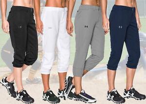 Under Armour HeatGear Strike Zone Womens Fastpitch Softball Pants 1281968 XS-XL