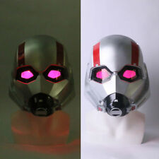 2018 Ant Man LED Helmet Cosplay Ant-Man and The Wasp Scott PVC Helmet Superhero
