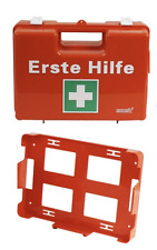 Erste Hilfe Koffer leer Betriebsverbandkasten orange Verbandskoffer Halterung